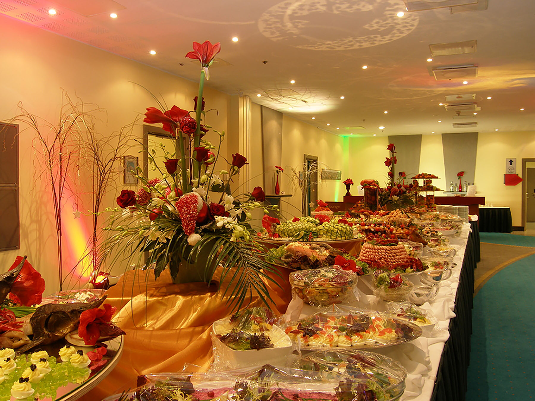 photo of catered event